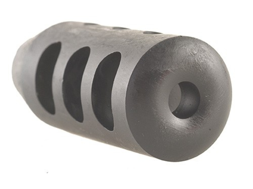 """Holland's Quick Discharge Muzzle Brake 9/16""""-28 Thread .580""""-.650"""" Barrel Tapered Chrome Moly"""