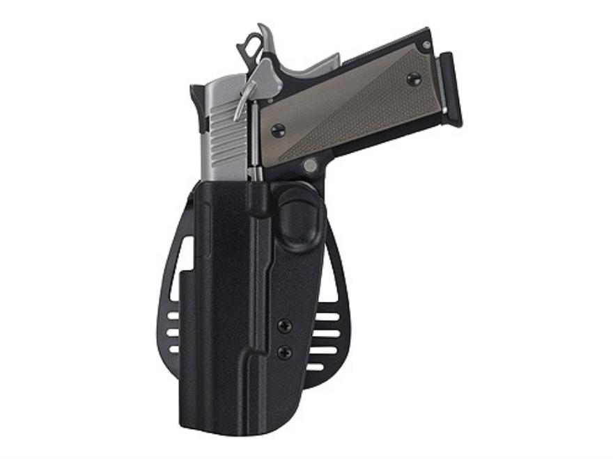 Uncle Mike's Paddle Holster Glock 20, 21 Kydex Black