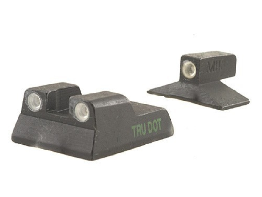 Meprolight Tru-Dot Sight Set HK P7M8 Steel Blue Tritium Green