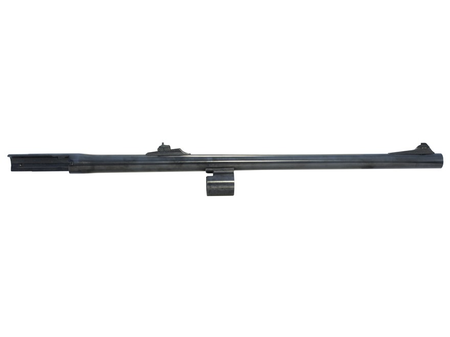 "Remington Slug Barrel Remington 1100 Deer 12 Gauge 2-3/4"" 21"" Rem Choke with Rifled Choke Tube Rifle Sights Blue"