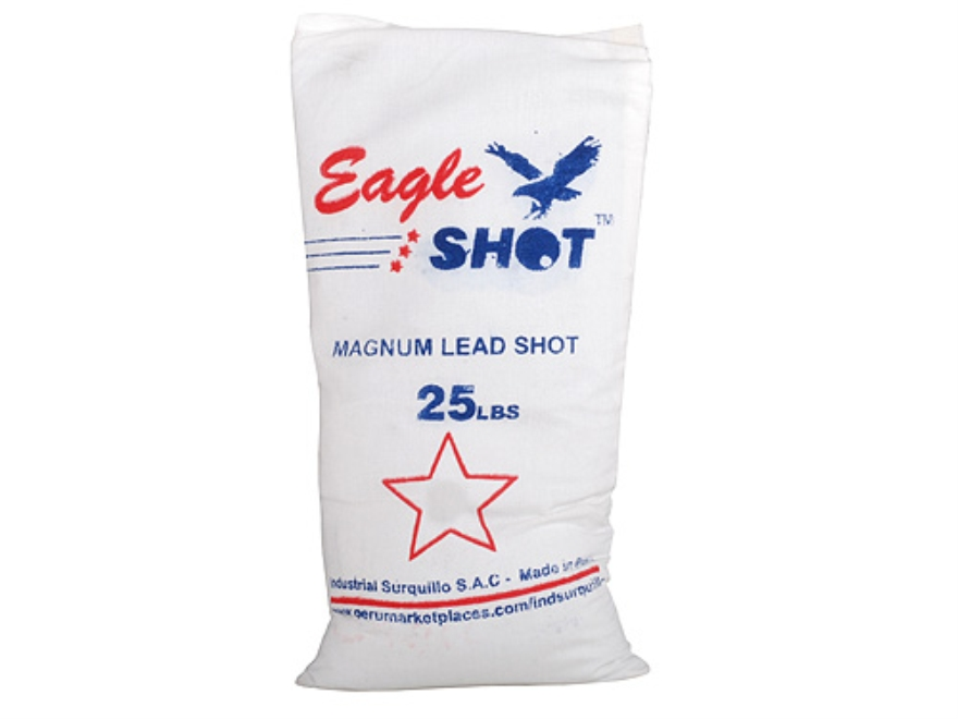 Eagle Magnum Lead Shot #4 25 lb Bag
