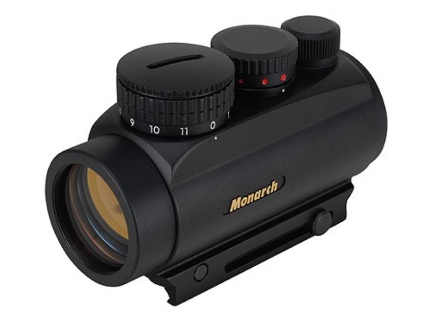 Nikon Monarch VSD Red Dot Sight 30mm Tube 1x Variable Sized Dot (1, 4, 6, 10 MOA ) Matte
