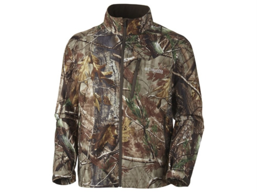 Columbia Sportswear Men's Stealth Shot Lite Jacket Polyester Realtree AP Camo 2XL 50-53