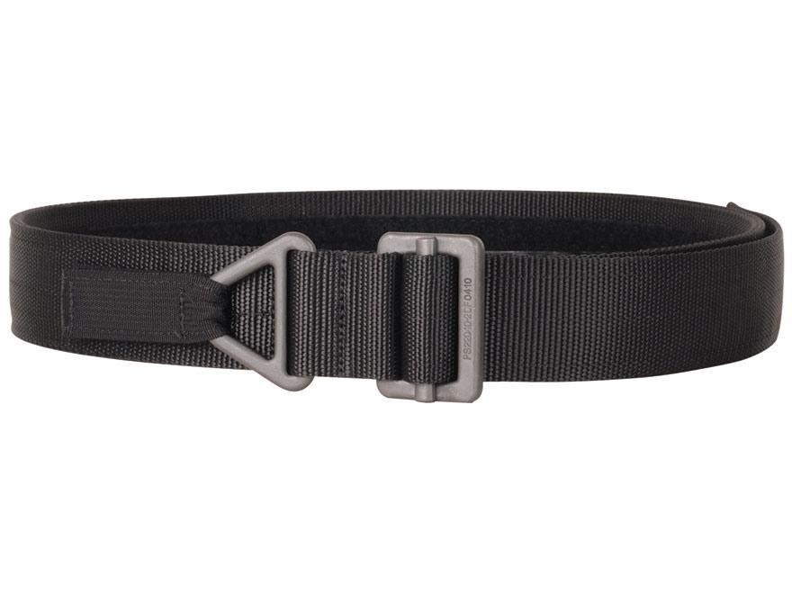 "Blackhawk Instructor Gun Belt 1-3/4"" Black Steel Buckle Nylon Black"