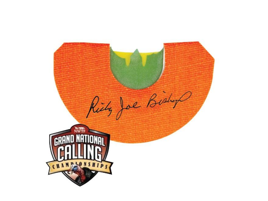 MAD NWTF Grand National Ricky Joe Bishop Diaphragm Turkey Call