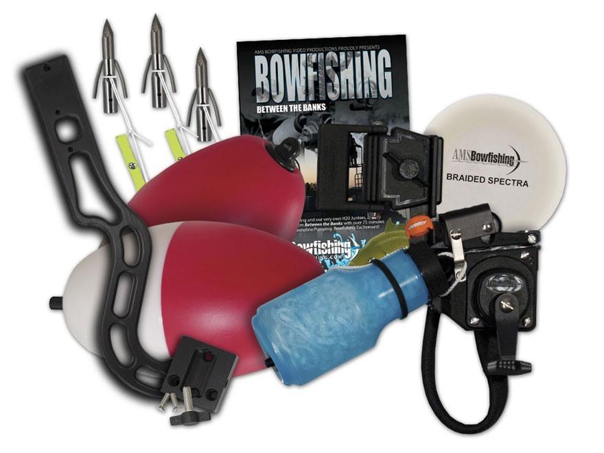 Ams gator crossbow bowfishing kit right hand for Crossbow fishing kit
