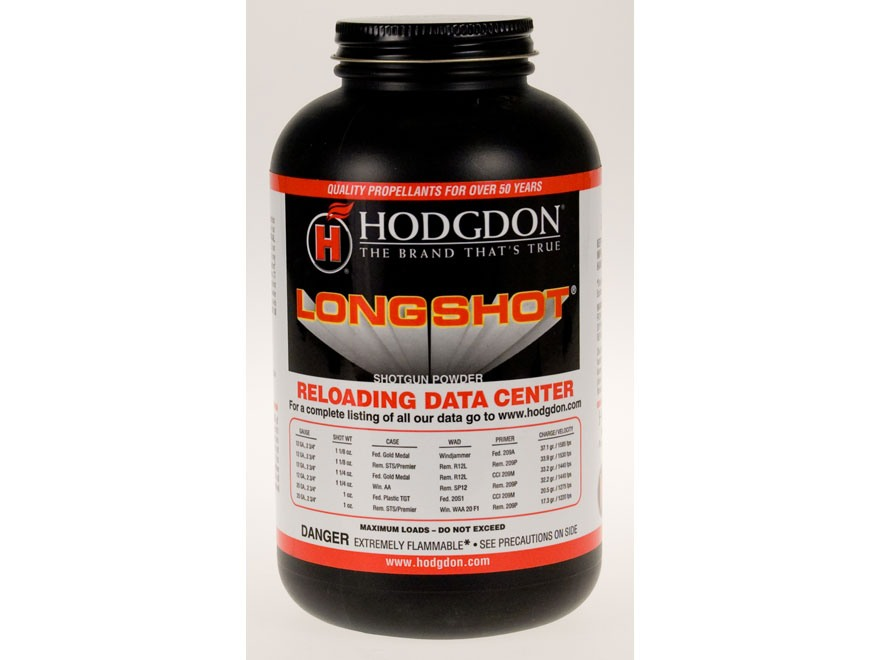Hodgdon Longshot Smokeless Powder