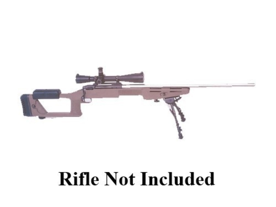 """Choate Ultimate Sniper Rifle Stock Remington 700 ADL 1.25"""" Barrel Channel Synthetic Oli..."""