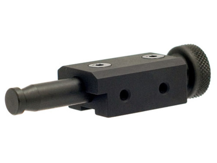 Atlas BT-19 Spigot for A.I and A.I.C.S. for use with BT10NC Bipod Aluminum Black