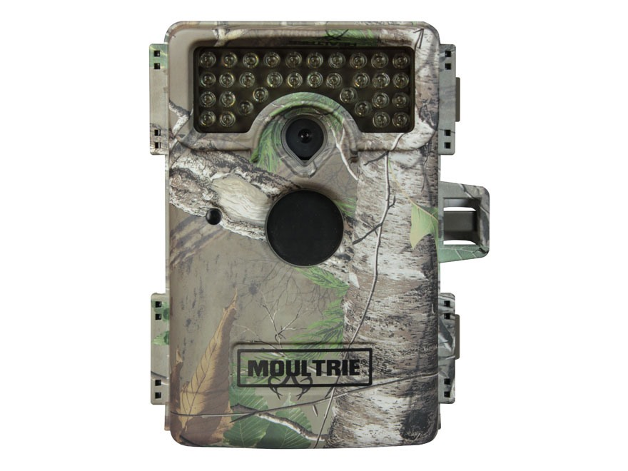 Moultrie M-1100i Black Flash Infrared Game Camera 12 Megapixel with Viewing Screen Realtree Xtra Camo