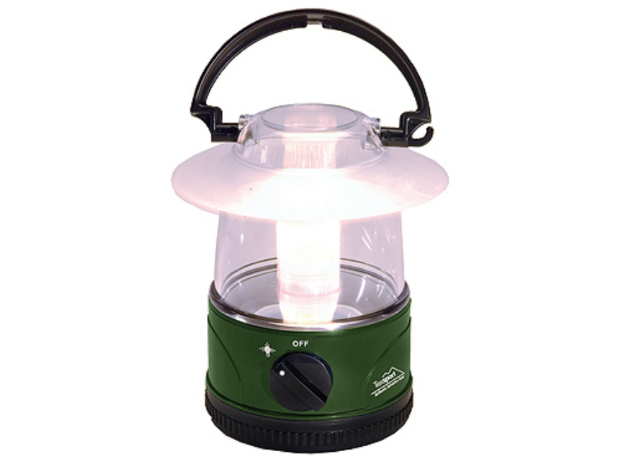 Texsport Mini Floating LED Lantern Polymer Green