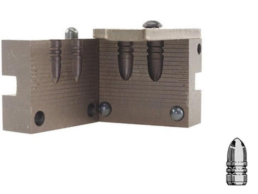 Saeco 2-Cavity Bullet Mold #254 30 Caliber (309 Diameter) 115 Grain Round Nose Bevel Base