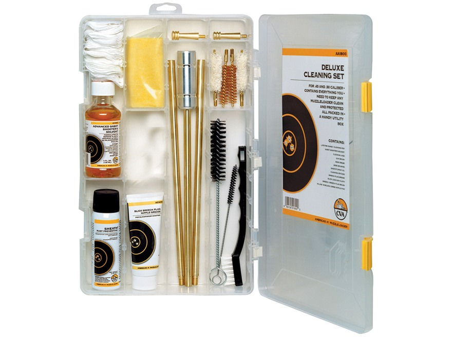 CVA Muzzleloading Deluxe Cleaning Kit