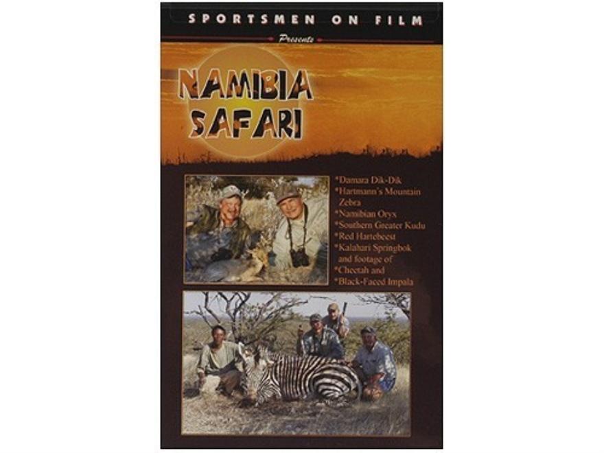 "Sportsmen on Film Video ""Namibia Safari"" DVD"
