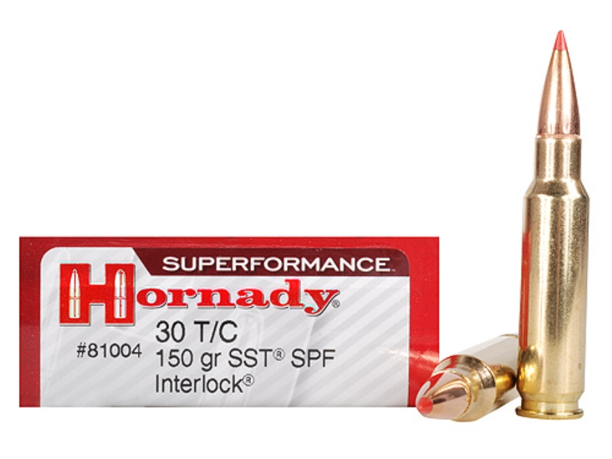 Hornady Superformance SST Ammunition 30 TC 150 Grain SST Box of 20