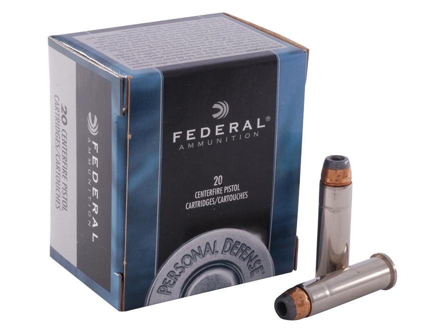 Federal Premium Personal Defense Ammunition 357 Magnum 125 Grain Jacketed Hollow Point Box of 20