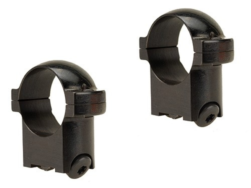 """Burris 1"""" Ring Mounts Ruger #1, 77/22 Gloss Low"""