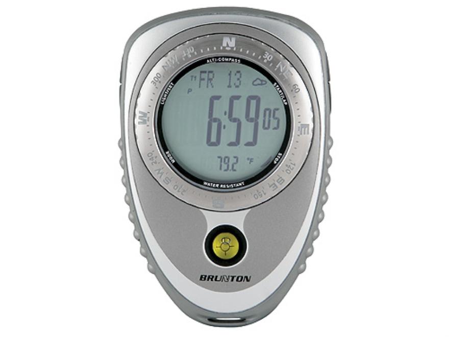 Brunton Nomad V2 Pro Digital Compass Gray and Silver