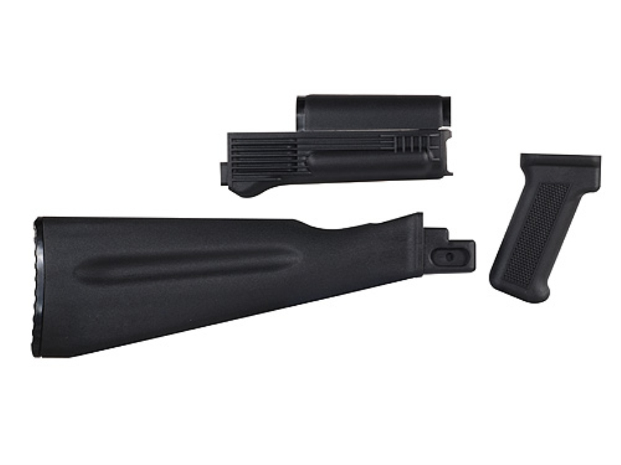 Arsenal, Inc. Complete Buttstock and Handguard Set NATO Length AK-47, AK-74 Stamped Receivers Polymer