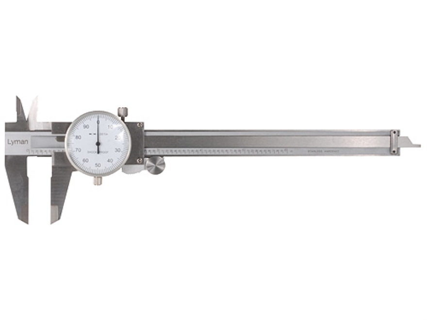 "Lyman Dial Caliper 6"" Stainless Steel"