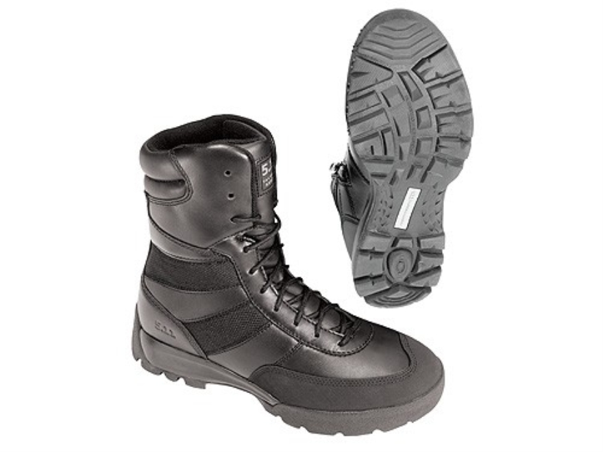 "5.11 HRT Urban 9"" Waterproof Uninsulated Tactical Boots Leather and Nylon Black Men's 10-1/2 D"