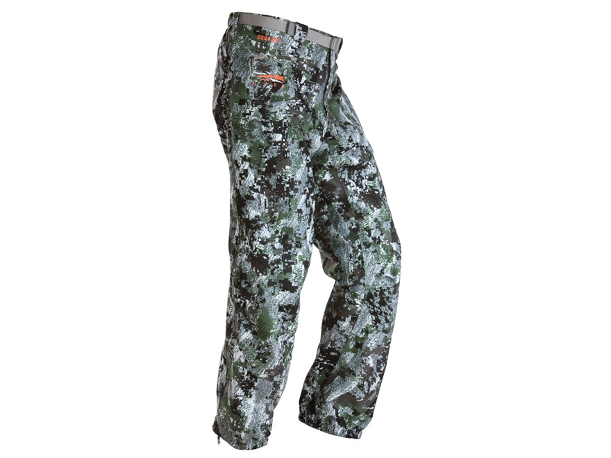 Sitka Men's Downpour Rain Pants Polyester