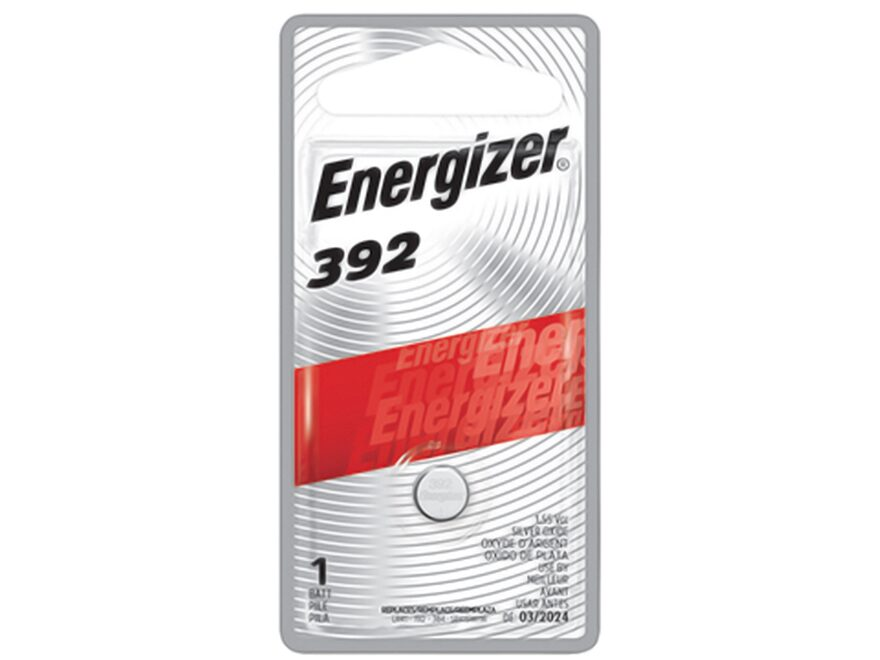 Energizer Battery 392 Silver Oxide