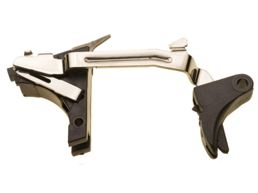 ZEV Technologies Standard Complete Drop-In Trigger Kit Glock Gen 4 357 Sig, 40 S&W Polymer Black