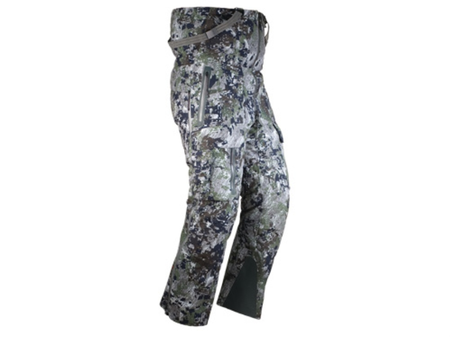 Sitka Gear Men's Incinerator Waterproof Insulated Bibs Polyester Gore Optifade Elevated Forest Camo Large 34-37