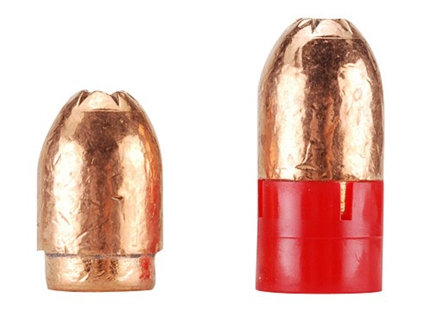 Harvester Muzzleloading Sabertooth Bullets 50 Caliber Belted 350 Grain Hollow Point Box of 12
