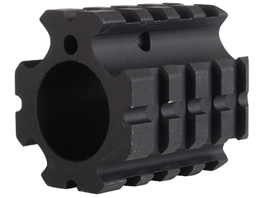 "DPMS Gas Block 4 Picatinny Rail AR-15, LR-308 Bull Barrel .936"" Inside Diameter Aluminum Matte"
