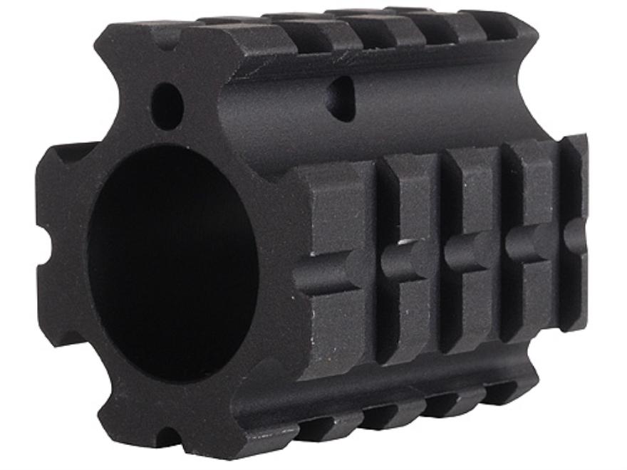 """DPMS Gas Block 4 Picatinny Rail AR-15, LR-308 Bull Barrel .936"""" Inside Diameter Aluminu..."""