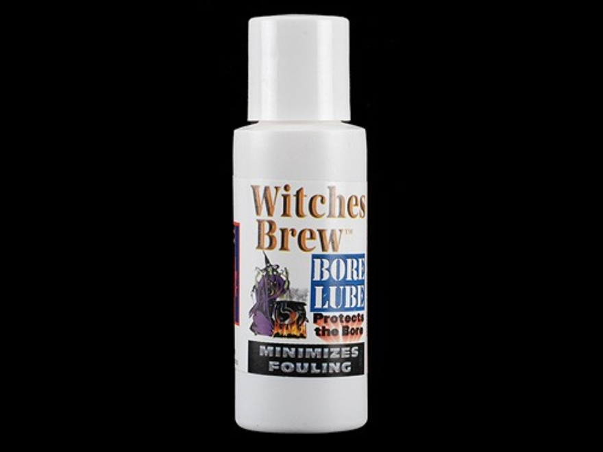 Holland's Witches Brew Barrel Break In Bore Cleaning Solvent 2 oz Liquid
