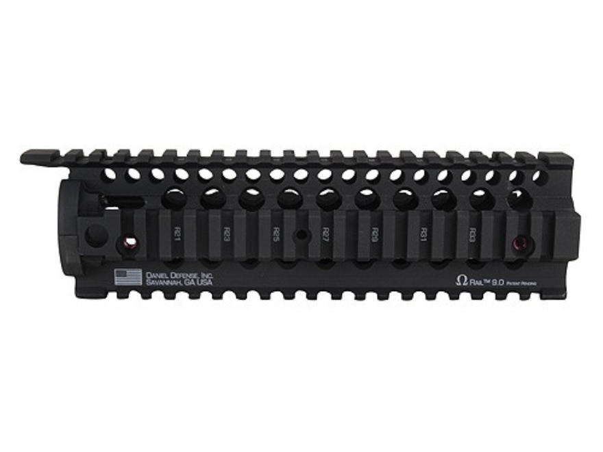 Daniel Defense Omega Free Float Tube Handguard Quad Rail AR-15 Aluminum Black