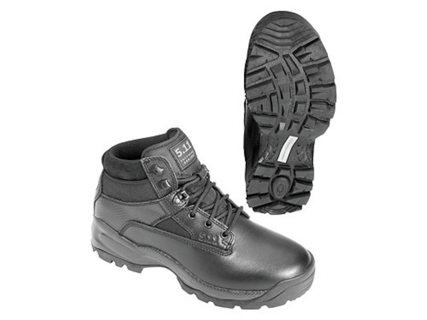 """5.11 ATAC 6"""" Uninsulated Tactical Boots Leather and Nylon Black Men's"""