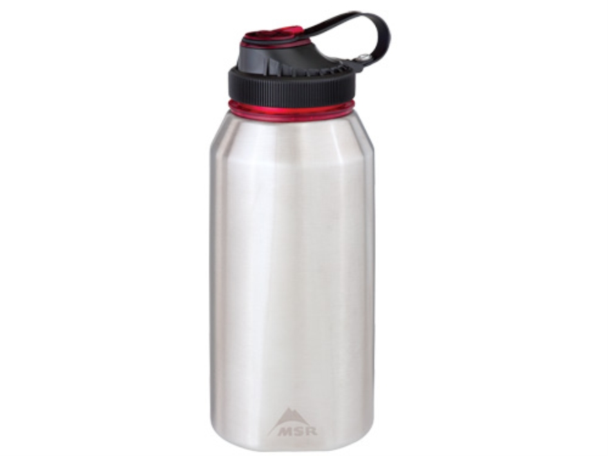 MSR Alpine 1 Liter Water Bottle Stainless Steel