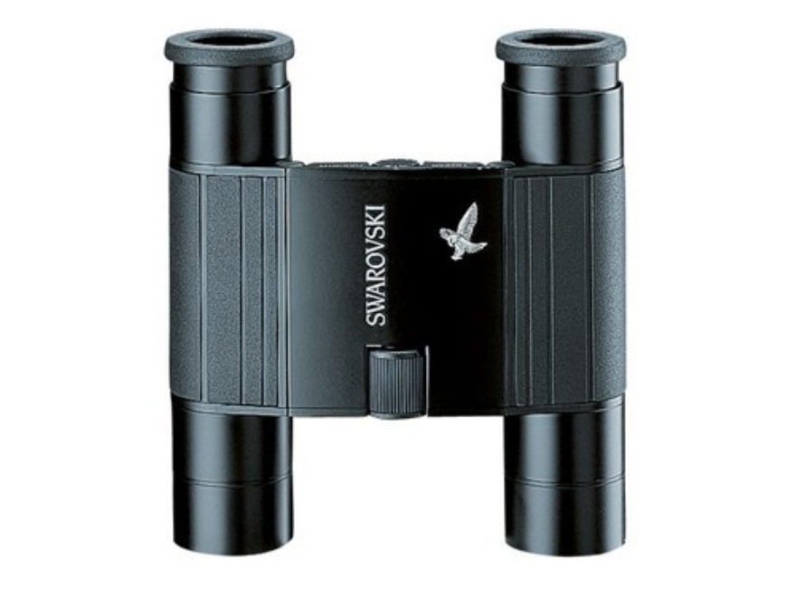 Swarovski Pocket Binocular 10x 25mm Roof Prism Black