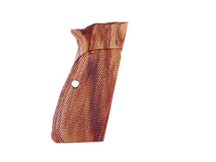 Hogue Fancy Hardwood Grips Browning Hi-Power Checkered