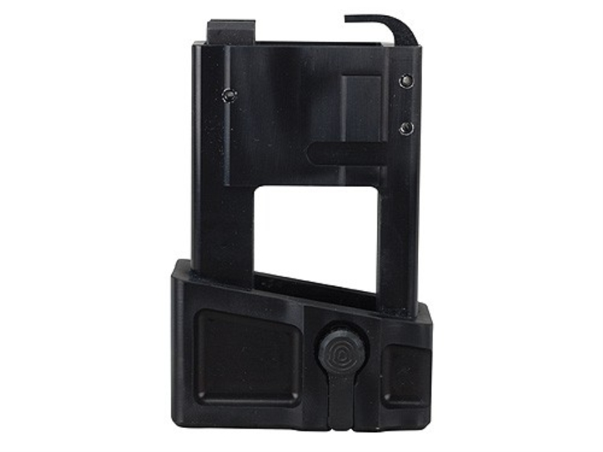 VM Hy Tech Uzi 9mm Magazine Block Adapter AR-15 Aluminum Matte