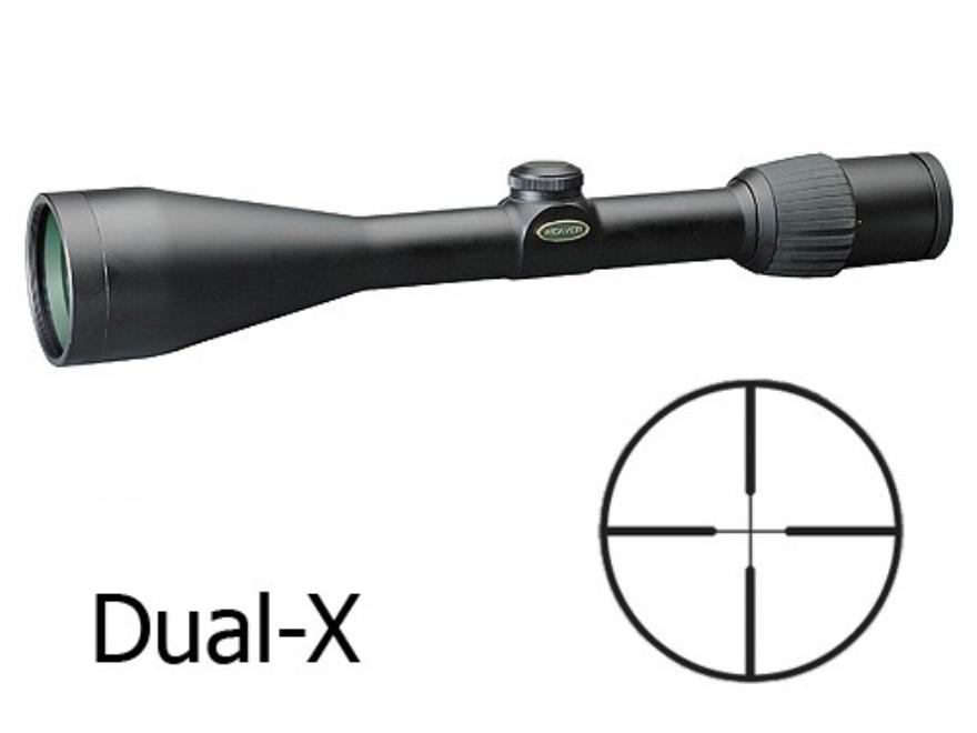 Weaver Grand Slam Rifle Scope 3.5-10x 50mm Dual-X Reticle Matte