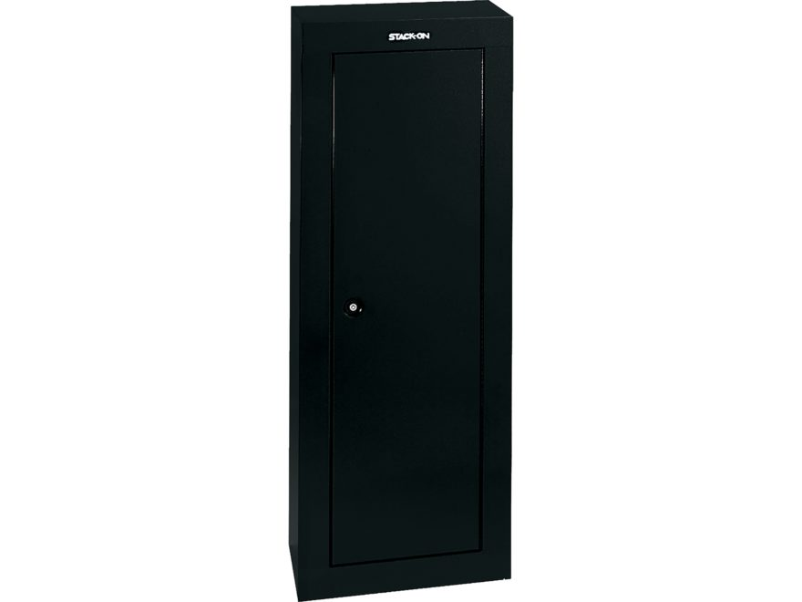 Stack-On 8-Gun Ready to Assemble Steel Security Cabinet Black