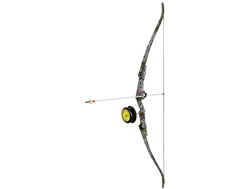 "PSE Kingfisher Recurve Bowfishing Bow Right Hand 30"" Draw Length Camo"