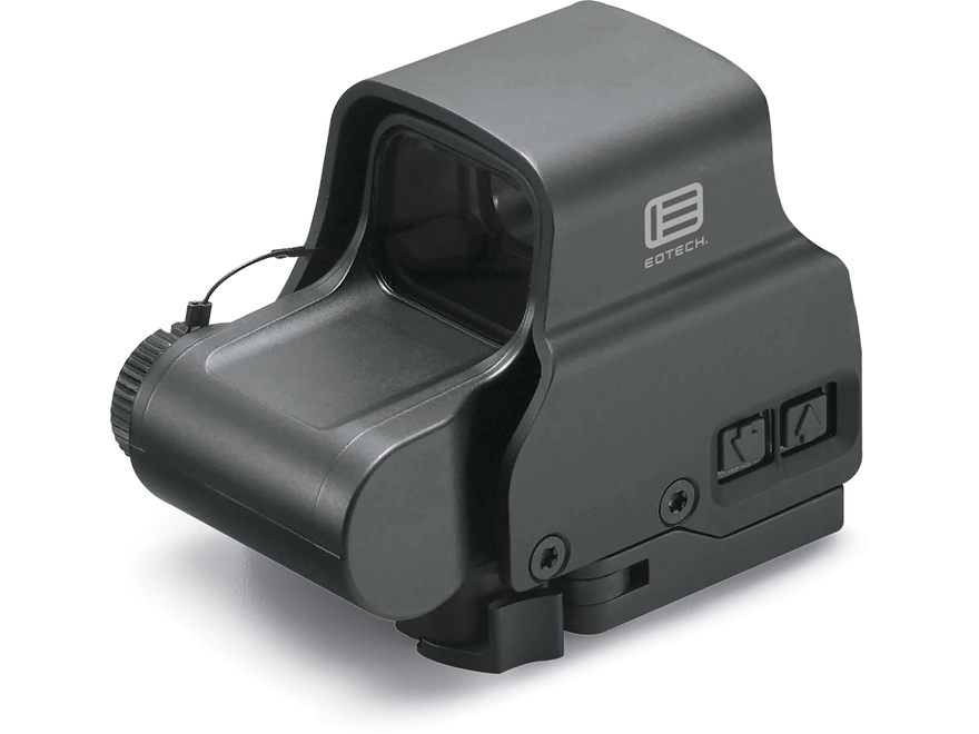 EOTech EXPS2-2 Holographic Weapon Sight 68 MOA Circle with (2) 1 MOA Dots Reticle Matte CR123 Battery