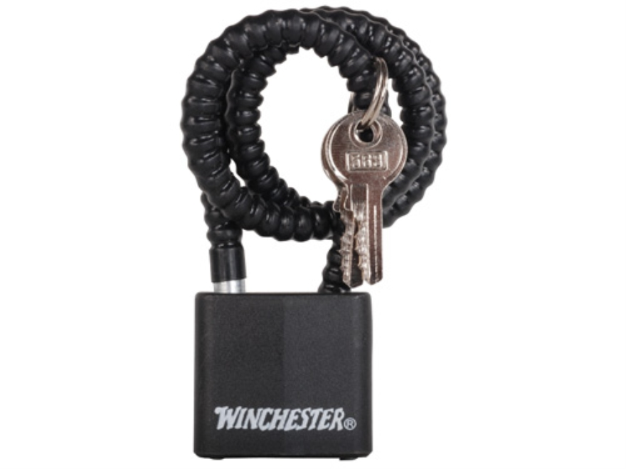"Winchester 15"" Hardened Steel Coated Cable Lock"