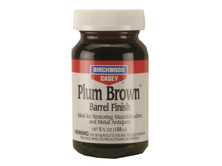 Birchwood Casey Plum Brown Barrel Finish 5 oz Liquid