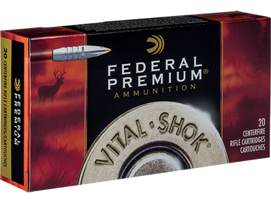 Federal Premium Vital-Shok Ammunition 300 Winchester Magnum 180 Grain Trophy Bonded Tip...