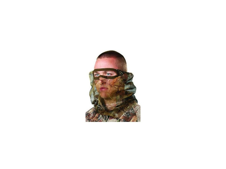 Hunter's Specialties Flex Form 2 Mesh 3/4 Face Mask Polyester Realtree Xtra Camo