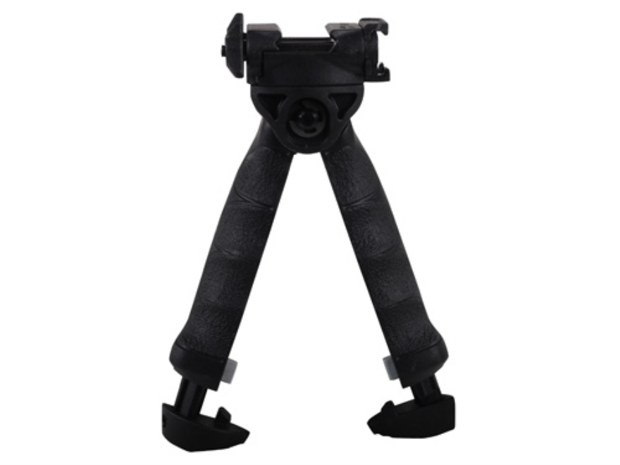 Mako T-Pod Vertical Forend Grip With Rotating Bipod Polymer Black