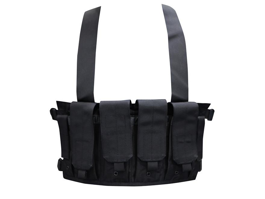 Blackhawk Chest Rig Holds 8 AR-15 30 Round Magazines and 2 Double Stack Pistol Magazines Nylon