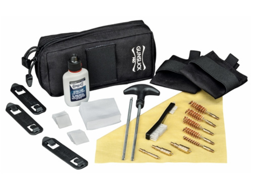 Gunslick Pro Commercial Handgunner's Pistol Cleaning Kit with Nylon Case